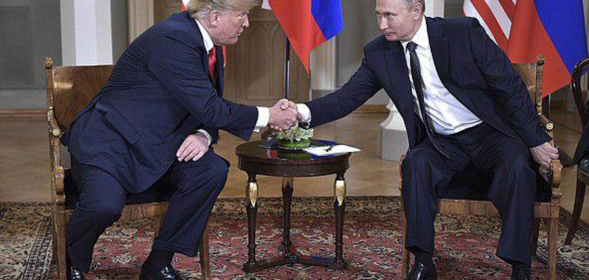 'Щоб із ходулів не впасти': мережу повеселила реакція Путіна на рукостискання Трампа