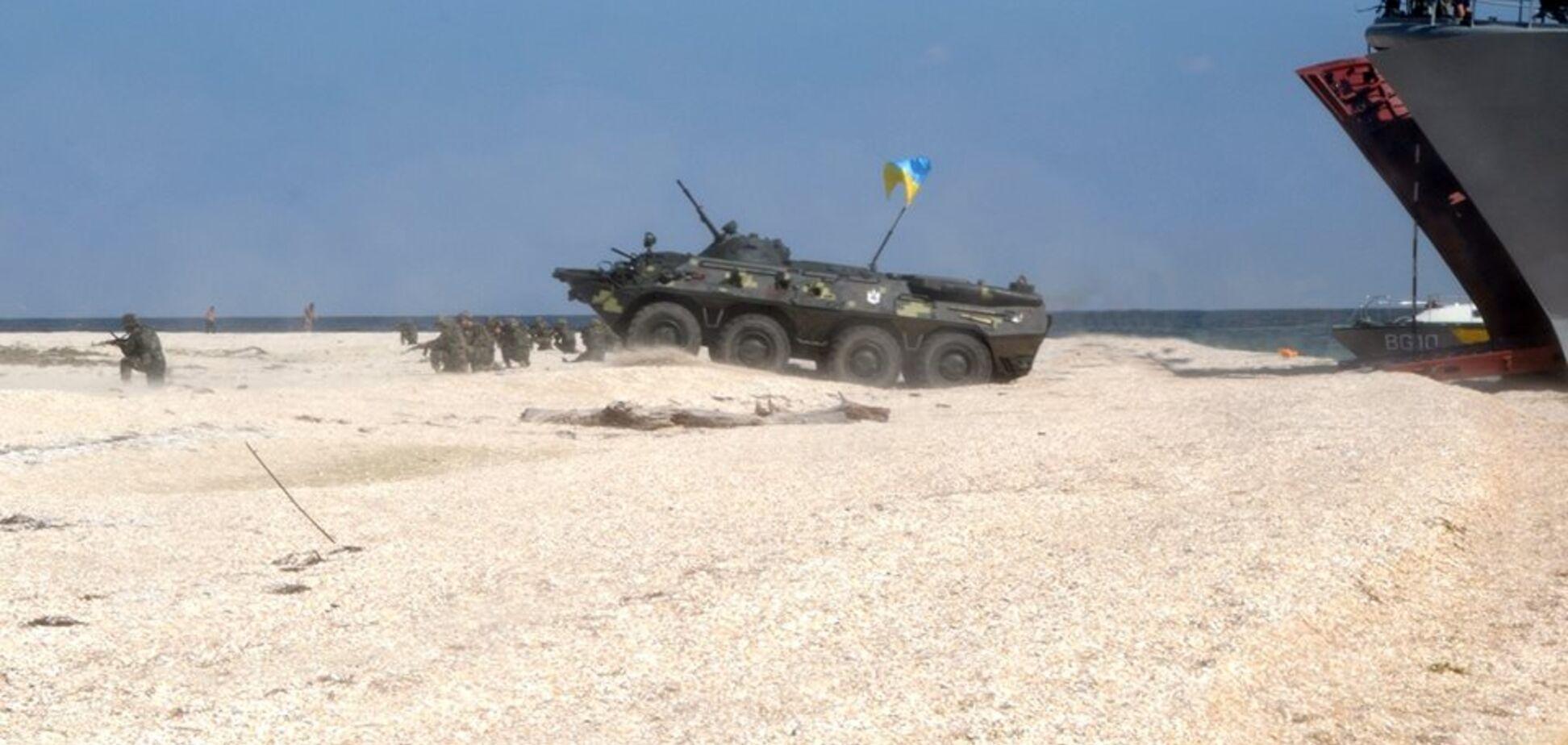 Украинский десант 'взял' новую высоту