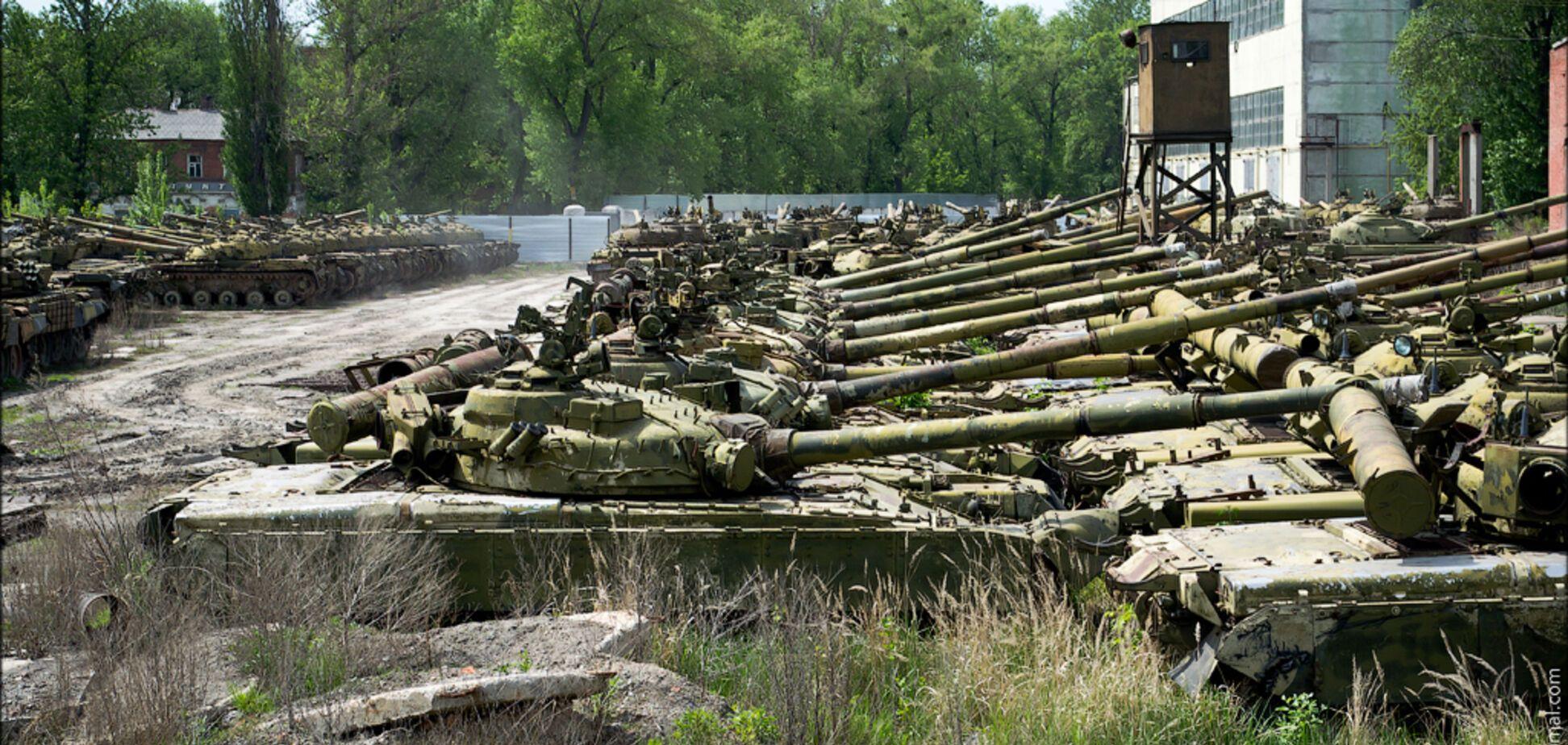 Скандал с секретным складом танков: в 'Укроборонпроме' назвали виновных