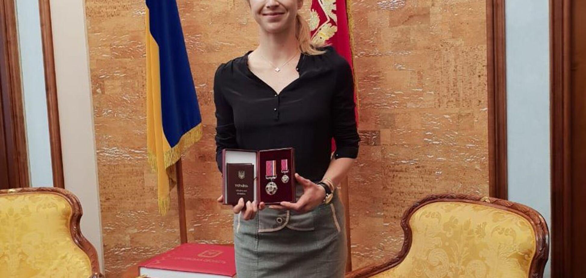 'От гимна Украины наворачиваются слезы': Свитолина получила орден