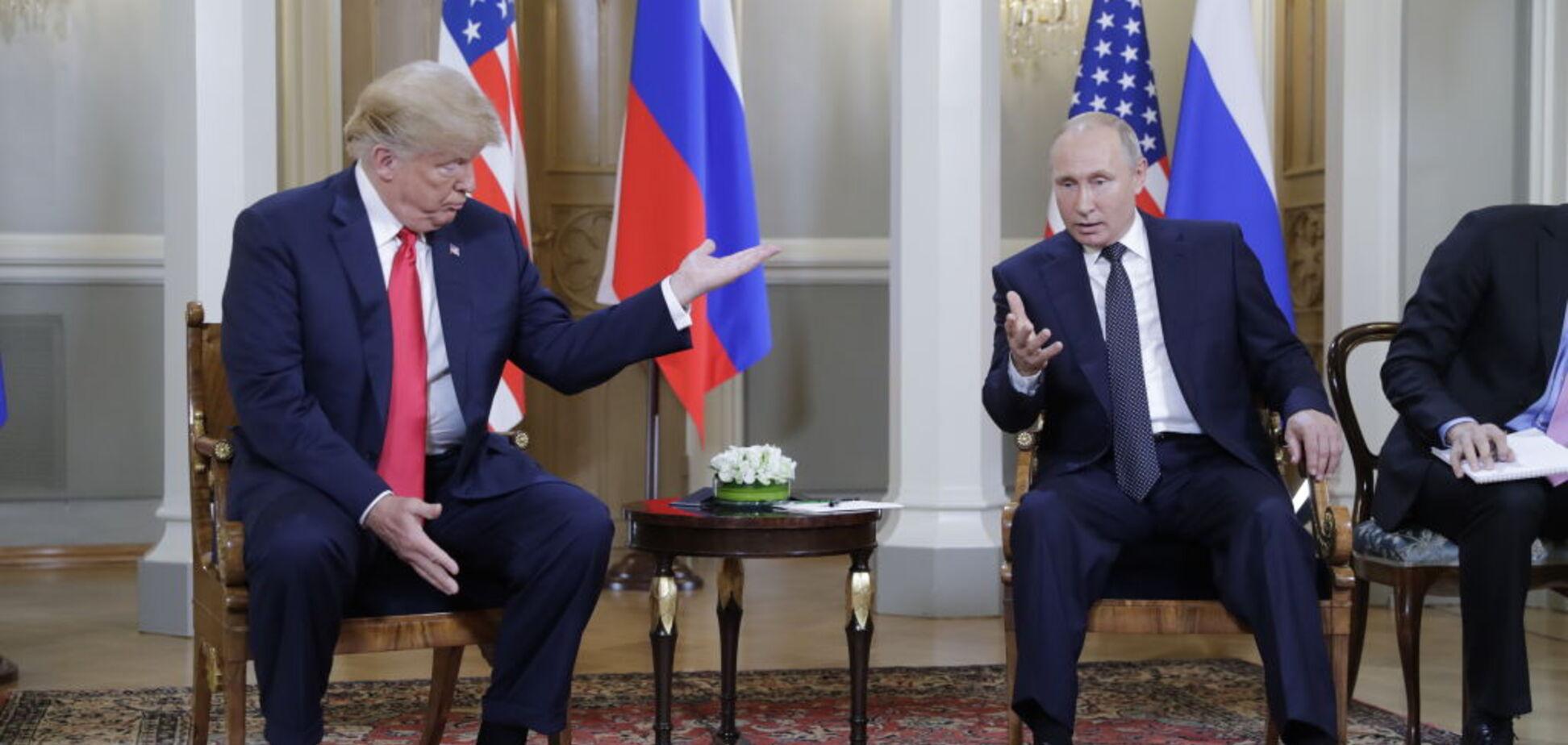 'Від горшка два вершка': підбори Путіна на зустрічі з Трампом заінтригували мережу