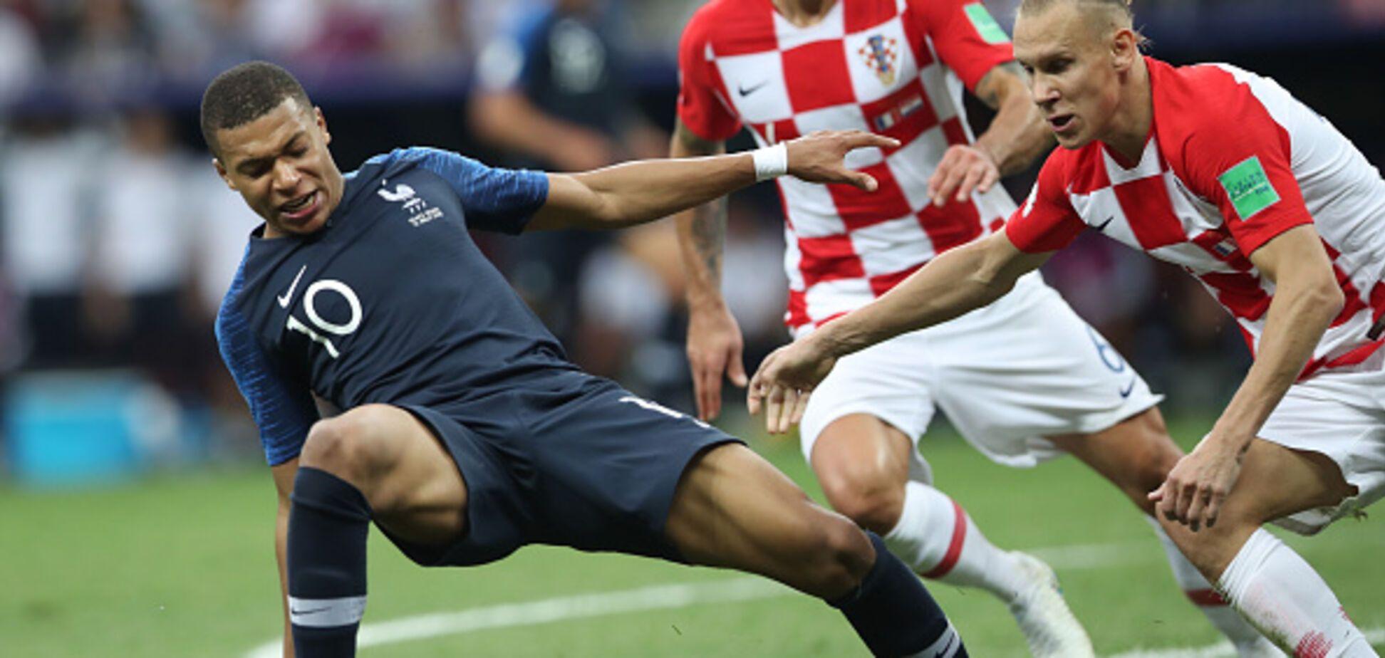 Фото збірної Хорватії потрапило під розслідування ФІФА