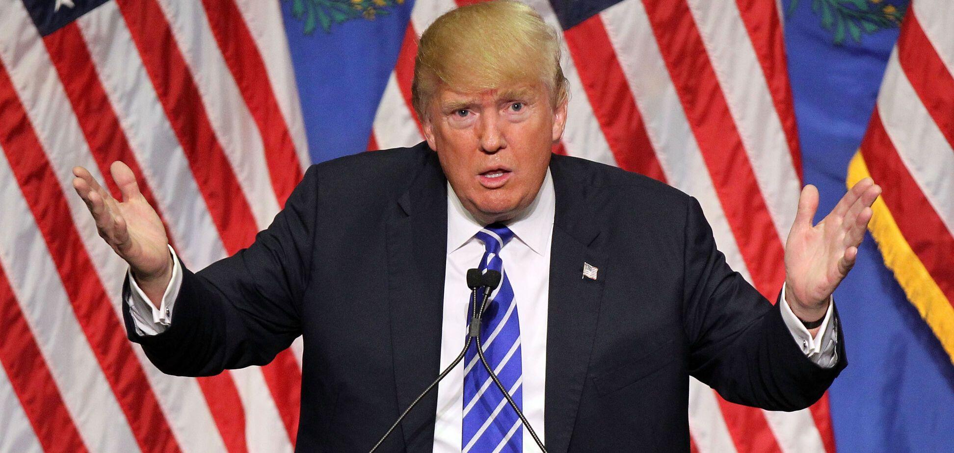 'Шифрується від ФСБ': 'Трампа' засікли в Росії. Опубліковані фото