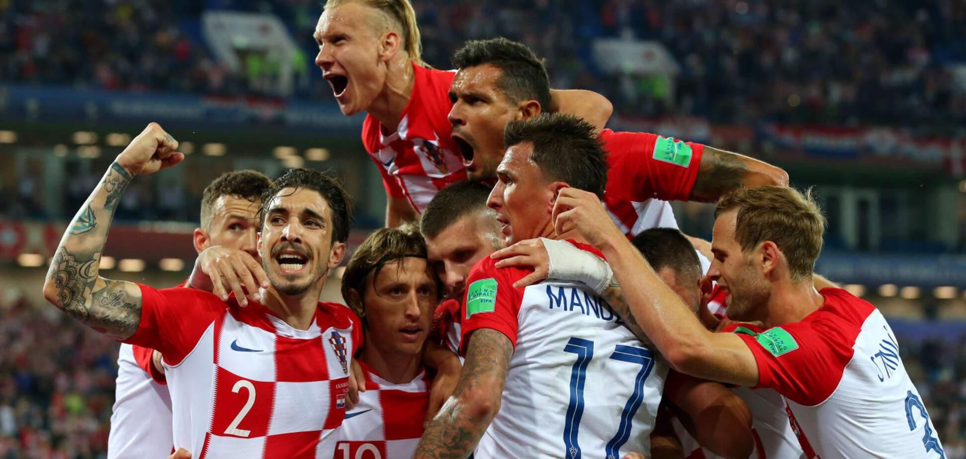 Хорвати здобули неймовірну перемогу над іспанцями