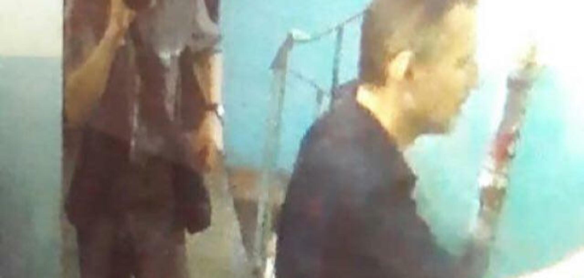 В Киеве воры-домушники попали на камеру наблюдения