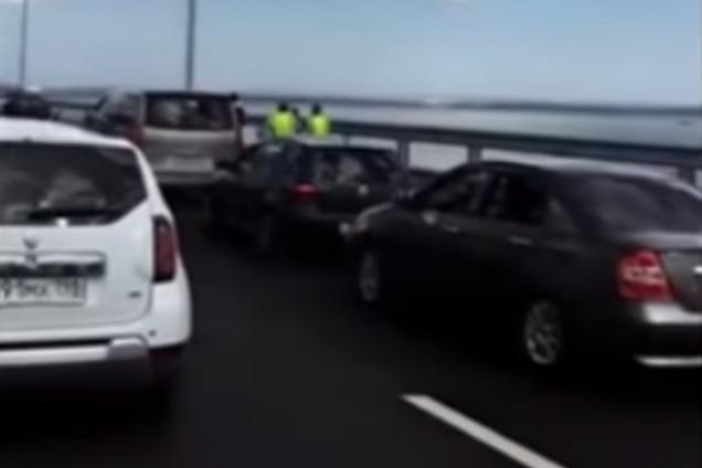 Любимый певец Путина устроил ЧП на Крымском мосту