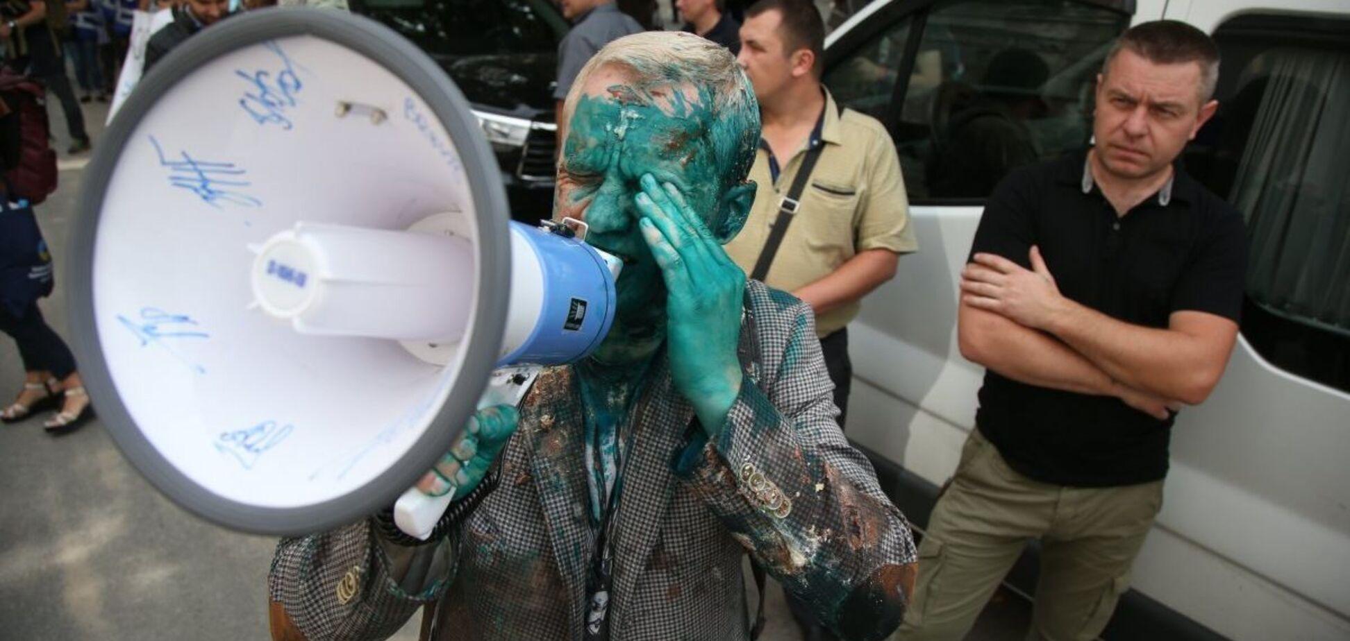 Шабунин в зеленке: Луценко решил прекратить ''ватную традицию''