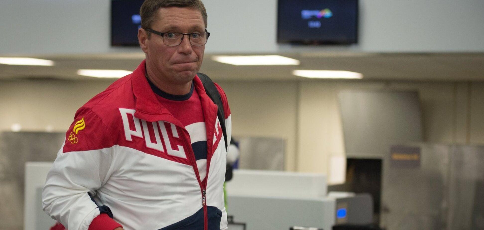 Позорный поступок главного тренера сборной России попал на видео