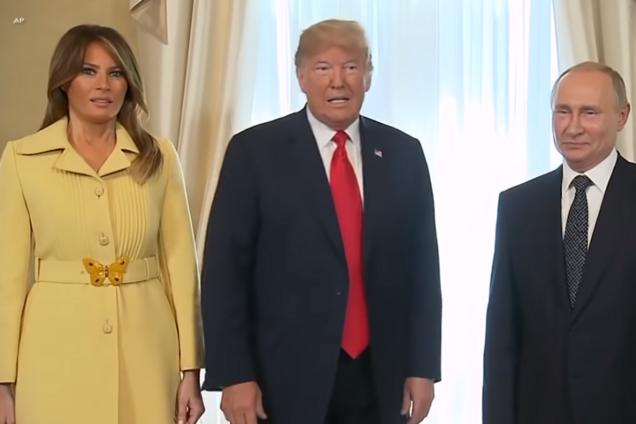 Испугалась? Жена Трампа удивила выражением лица после разговора с Путиным
