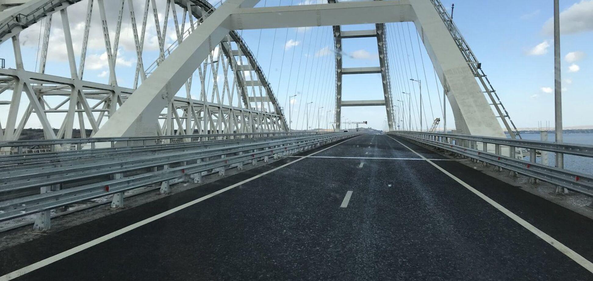 Евросоюз одобрил санкции против строителей Крымского моста