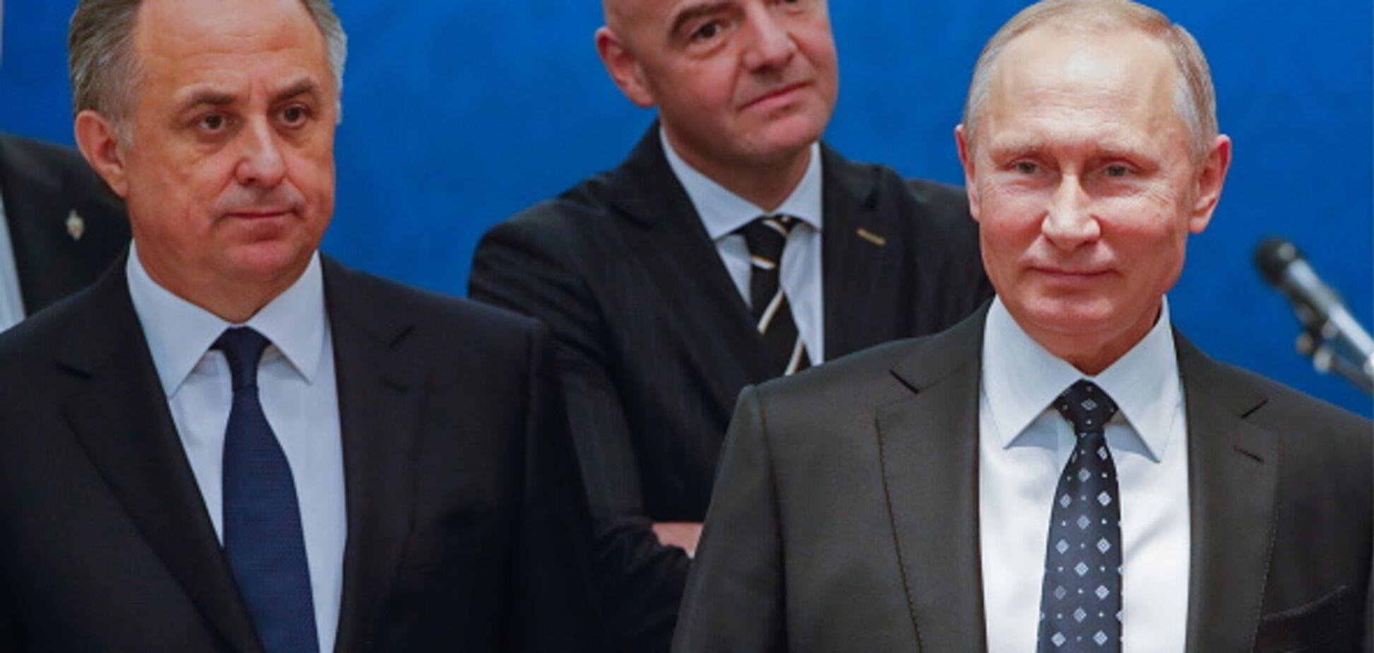 'Тыкните рожами': глумливое заявление Путина вызвало ярость у российских болельщиков