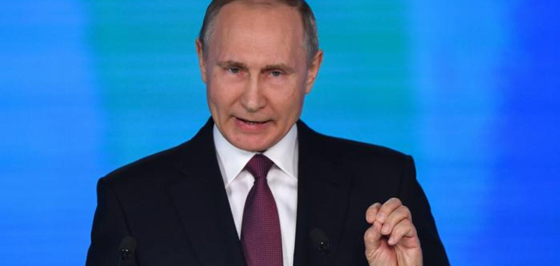 'Силовой путь': Путин предупредил об 'обострении' на Донбассе