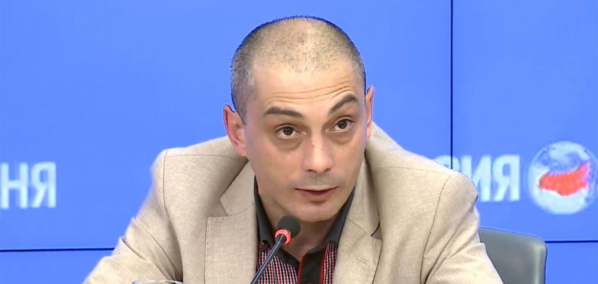 СБУ, приймай! Скандальний російський журналіст порівняв Україну з дауном