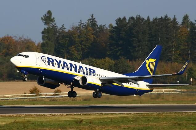 Ryanair будет летать в еще один город Украины