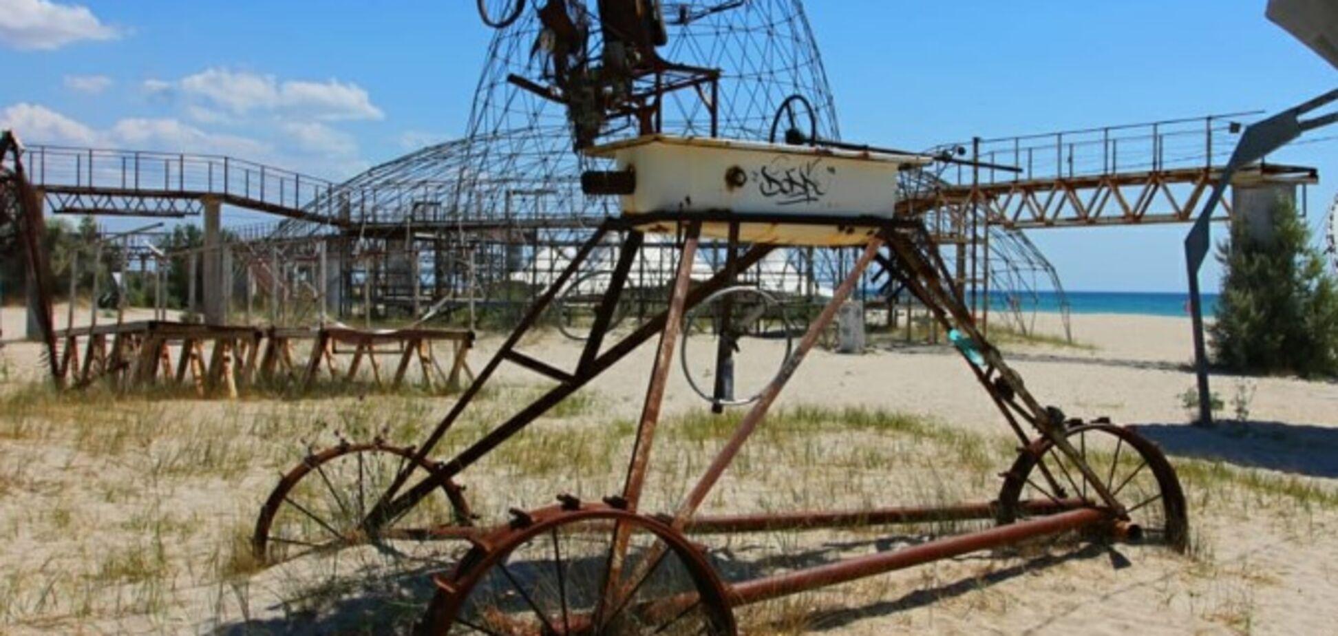 'На обломках Казантипа': в сети показали, что случилось с популярным местом в Крыму