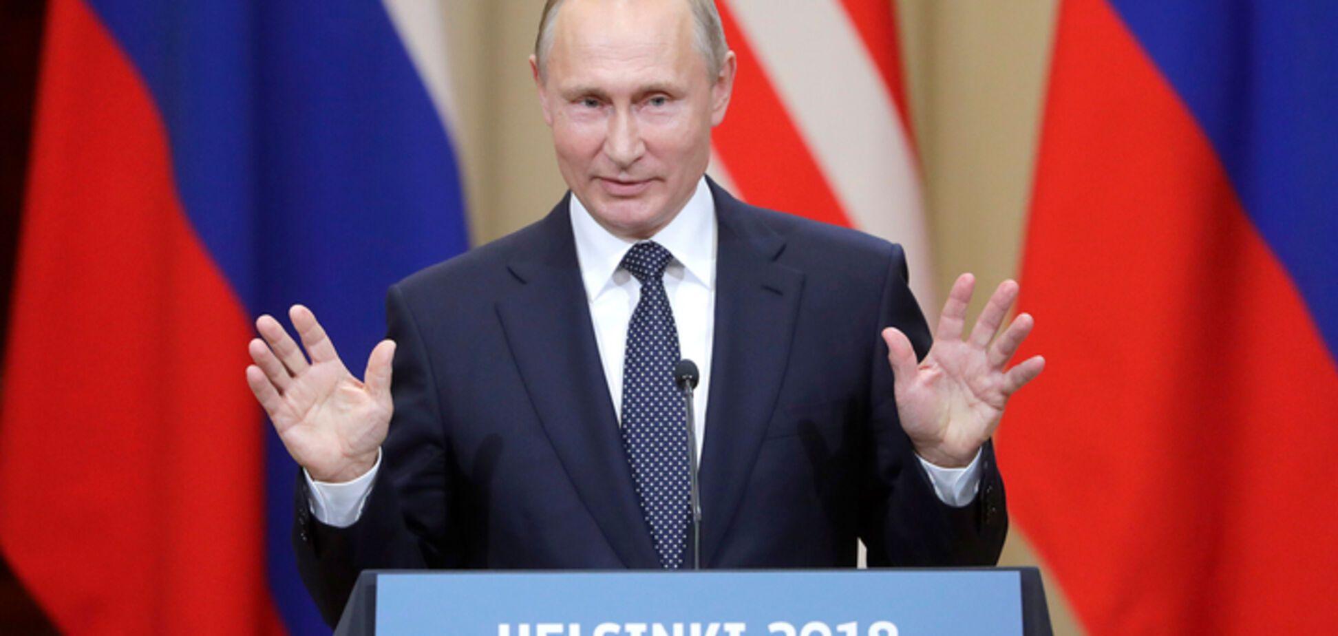 Как спичрайтеры Путина в Хельсинках опростоволосились