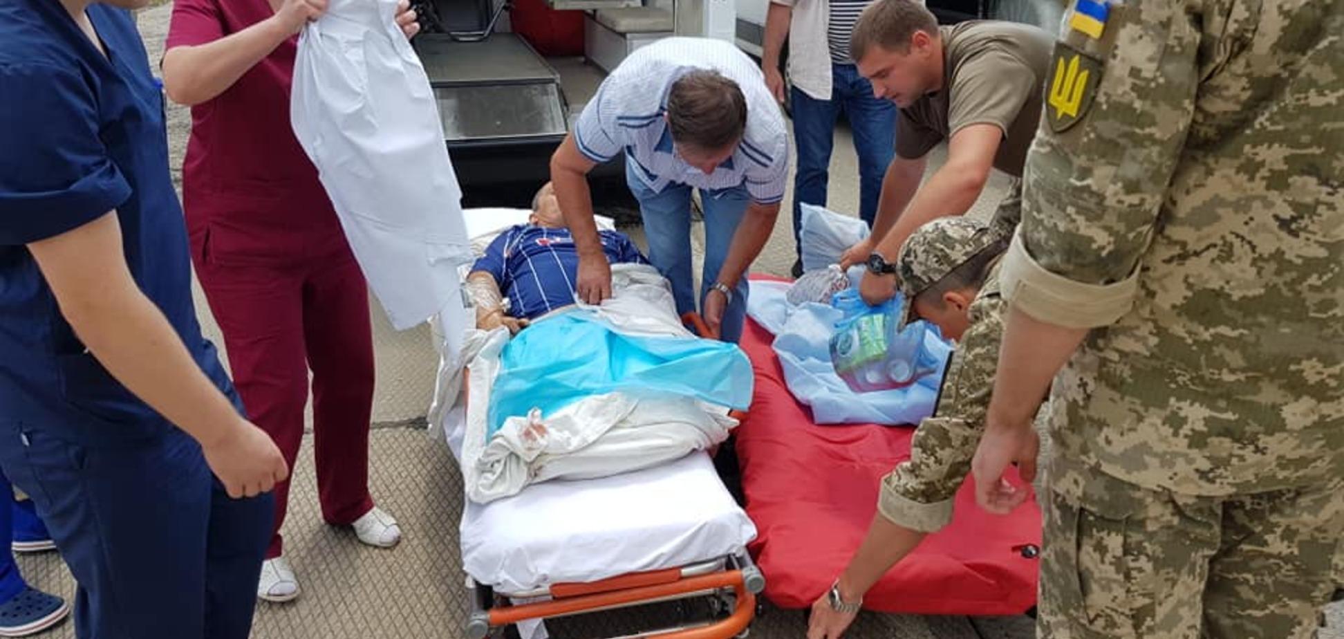 В Одессу доставили тяжело раненых бойцов ООС с Донбасса: опубликованы фото