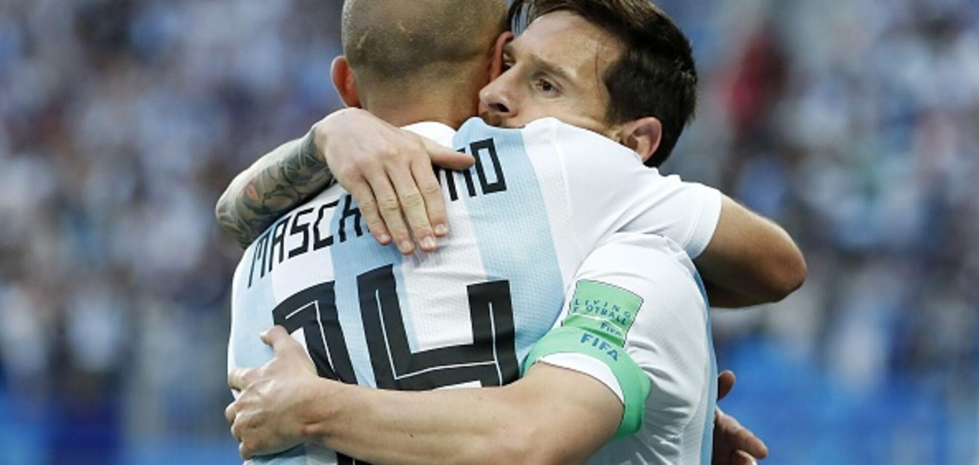 Мессі втік з Росії, залишивши збірну Аргентини
