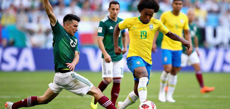 Бразилия - Мексика: обзор матча 1/8 финала ЧМ-2018