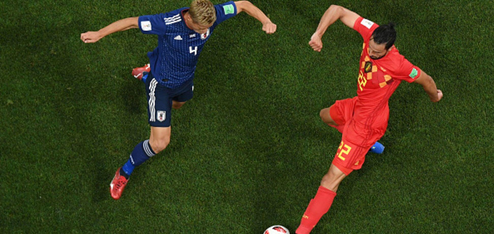 Бельгія - Японія: огляд матчу 1/8 фіналу ЧС-2018
