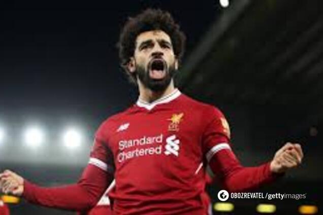 "Лидер ""Ливерпуля"" Мохамед Салах"