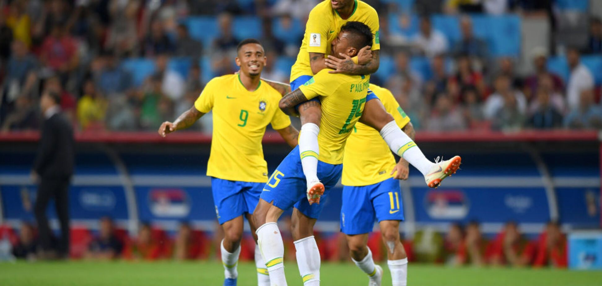 Гол Неймара! Бразилія - Мексика: онлайн-трансляція матчу плей-офф ЧС-2018