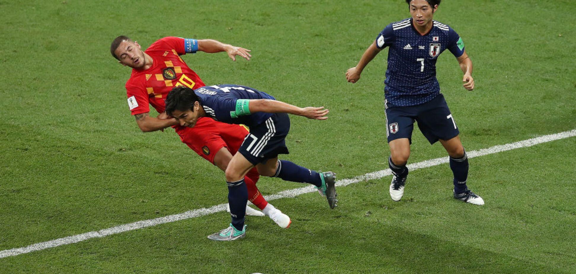 Бельгия в матче-триллере вышла в четвертьфинал ЧМ-2018