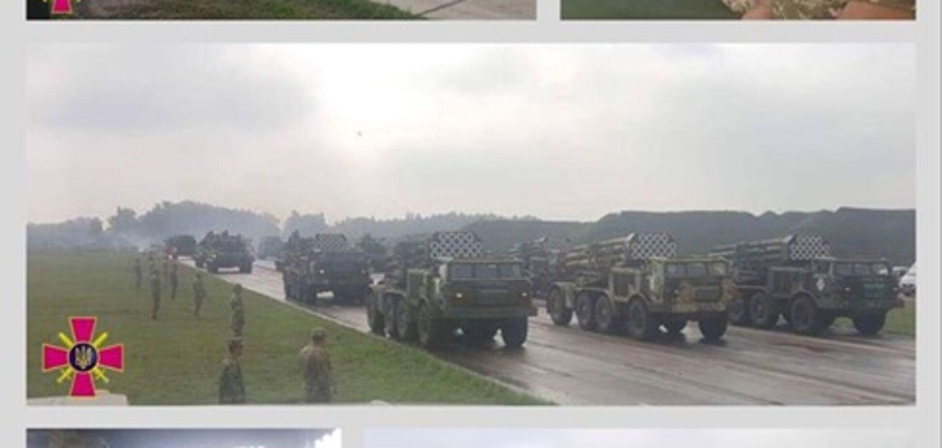 ВСУ показали технику для военного парада в Киеве: чем похвастаемся