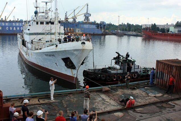 Львівський богатир потягне зубами 750-тонний корабель