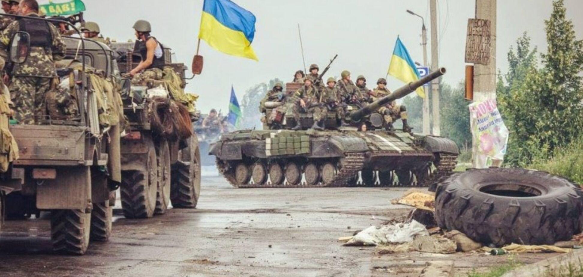 За Украину воюют пираты Сомали: бойцы ВСУ испугали террористов на Донбассе. Фотофакт