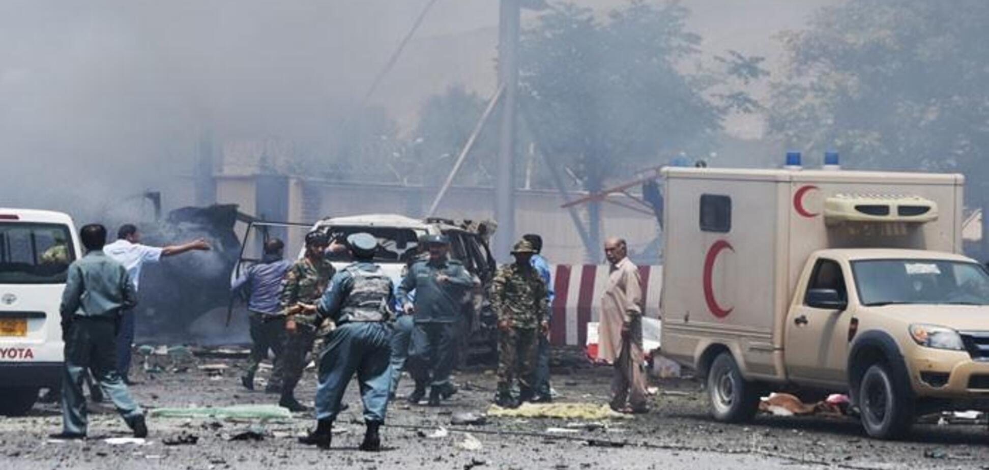 В Кабуле прогремел мощный взрыв: много жертв