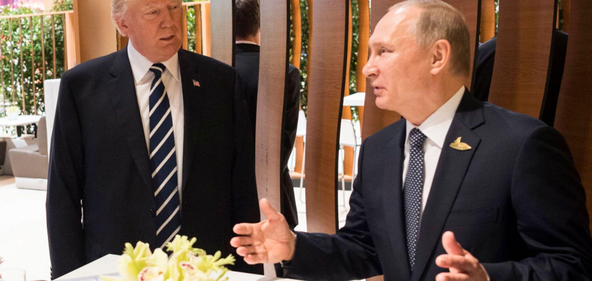 Тайная беседа Путина с Трампом