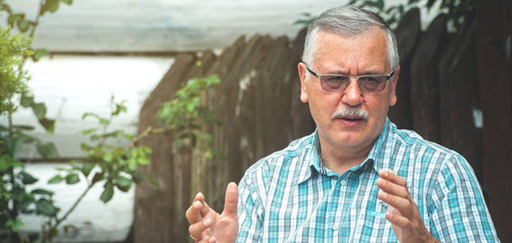 'Не подготовлен': Гриценко пояснил, почему не пошел на фронт