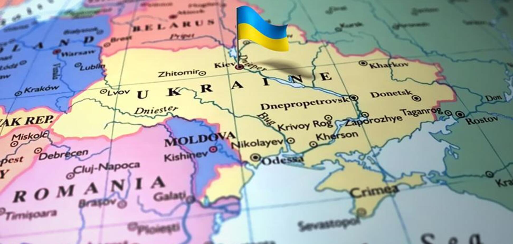 Крым снова 'отдали' России: опубликована скандальная карта