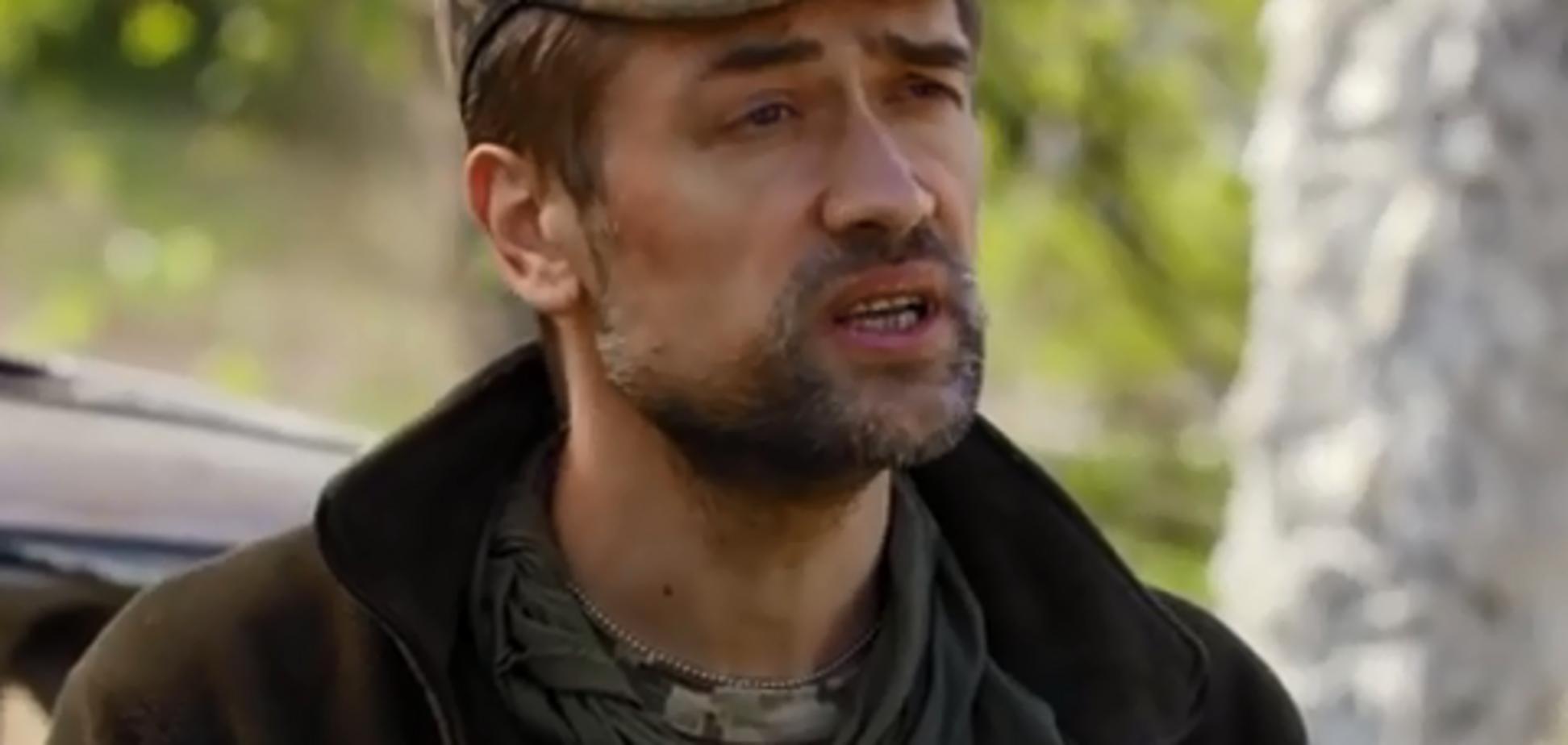 'Пусть не смеют говорить, что украинцы!' Российский актер-доброволец выступил с пронзительной речью