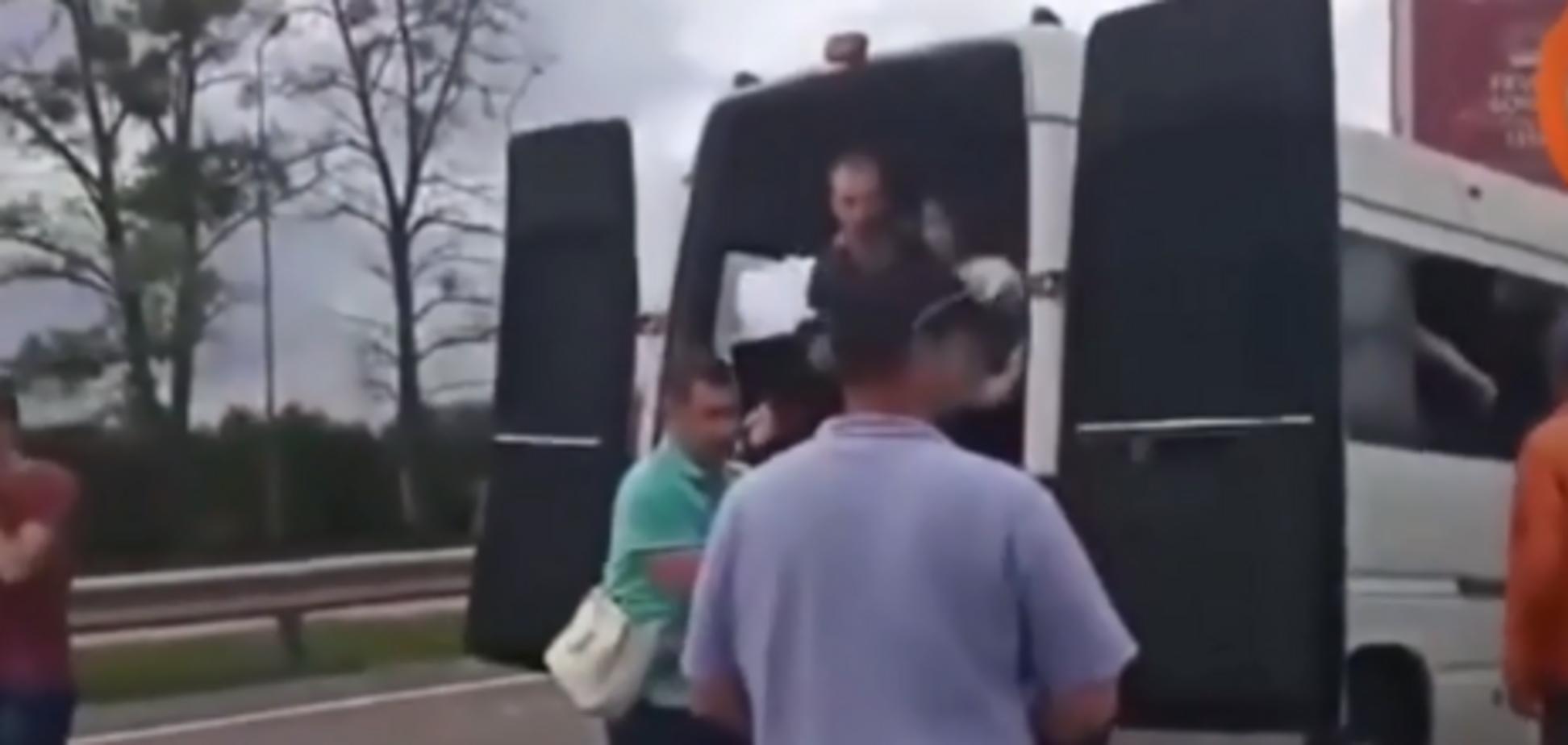 Смертельна ДТП під Житомиром: з'явилося перше відео з місця аварії