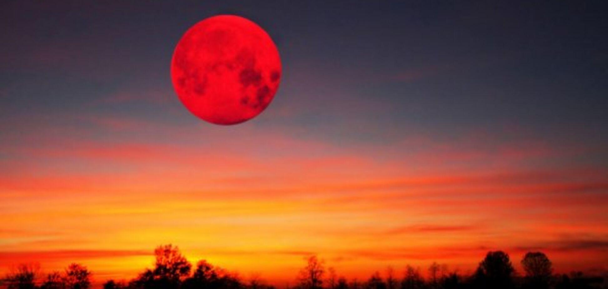 Приближается затмение века: как пережить 'кровавую Луну'