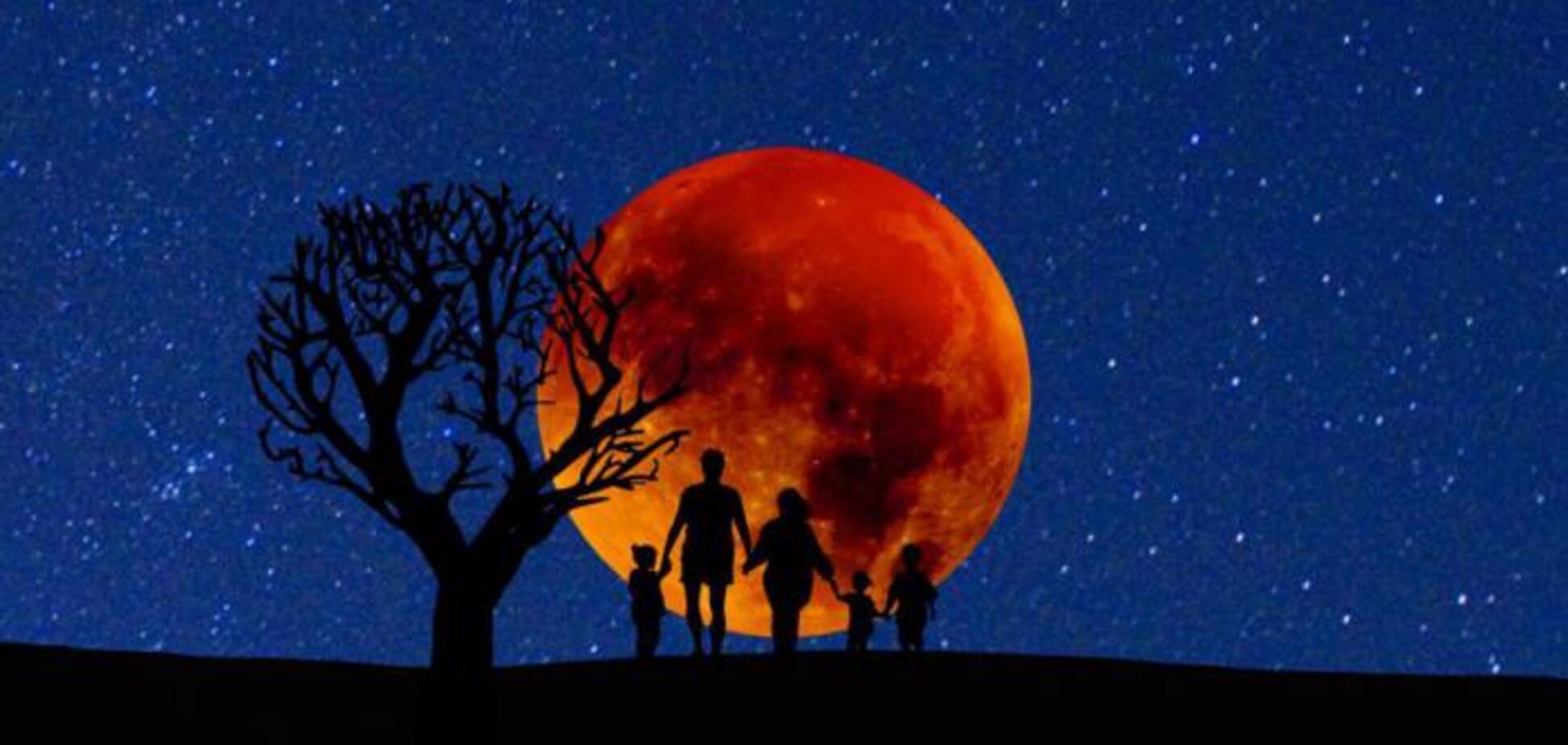 Надвигается затмение века: названа дата восхода 'кровавой луны'