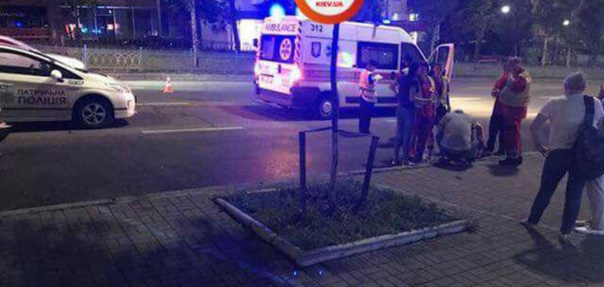 Протягнув 50 метрів: у центрі Києва 'неадекватний' водій на смерть збив дитину