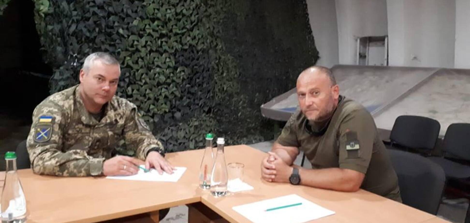 Командующий ОС встретился с Ярошем: что будет с добровольцами