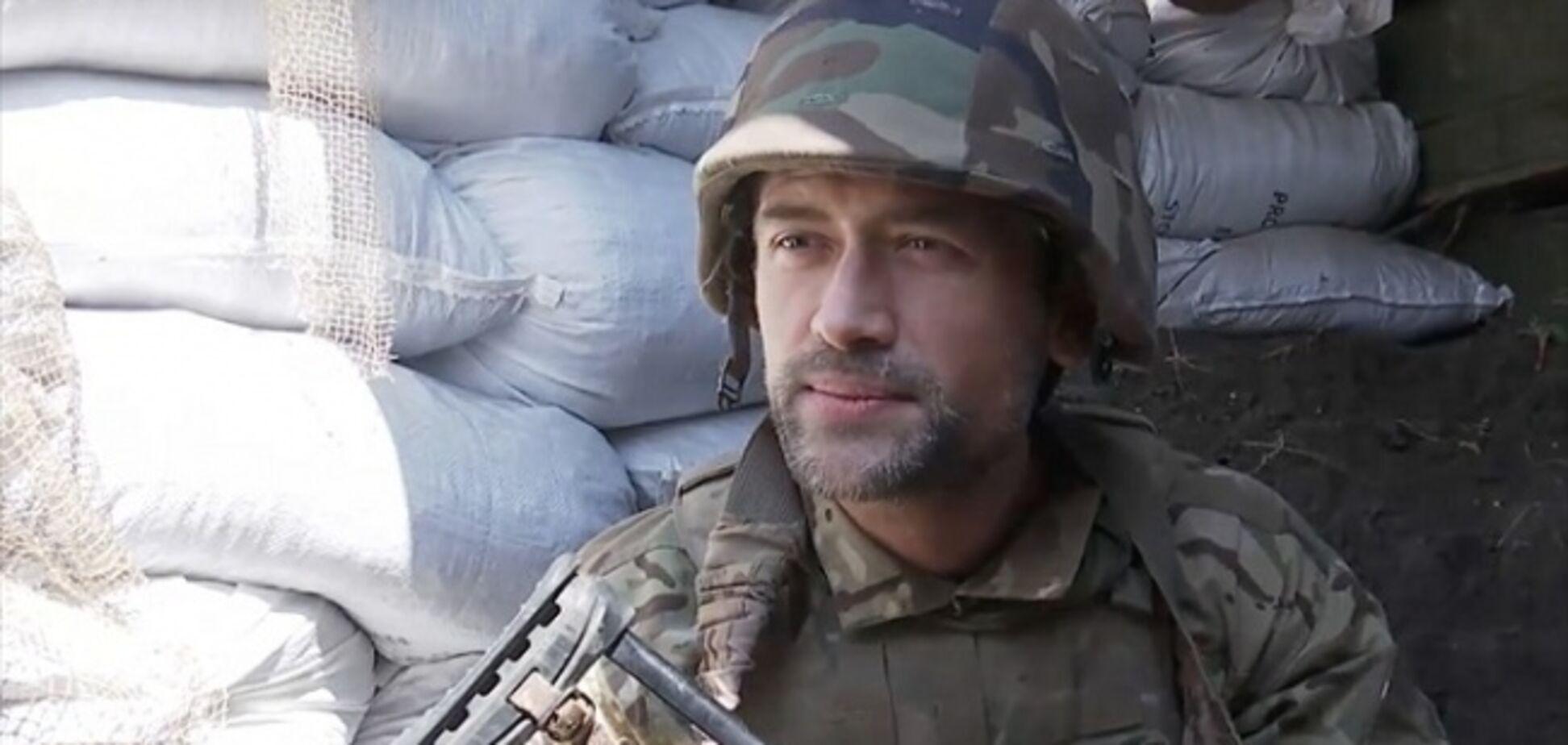 'Больной на голову!' Актер-доброволец на Донбассе разозлил россиян мощной речью