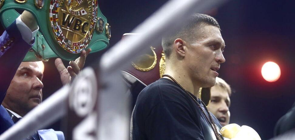 Принесло победу: стало известно, что сказал тренер Усику в перерыве боя с Гассиевым