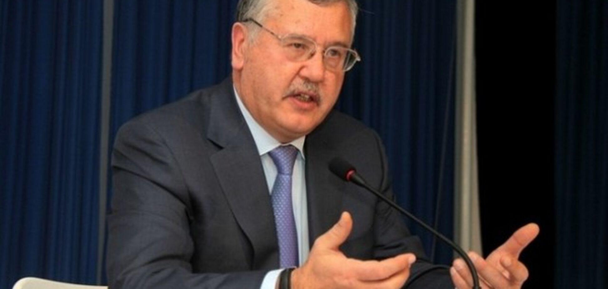 Политик пояснил российское дело против Гриценко