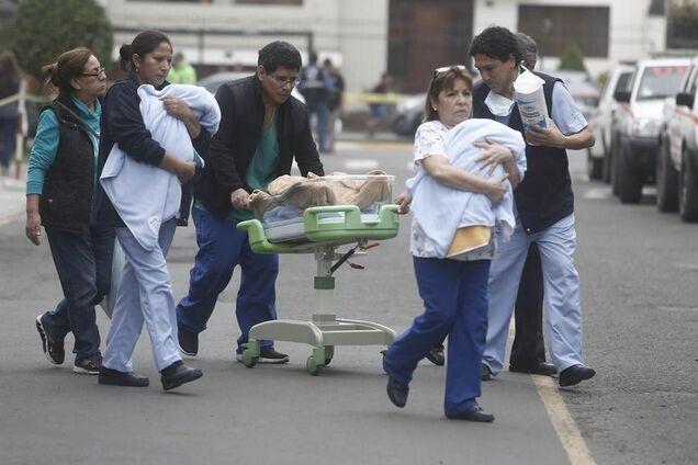 Эвакуация в клинике