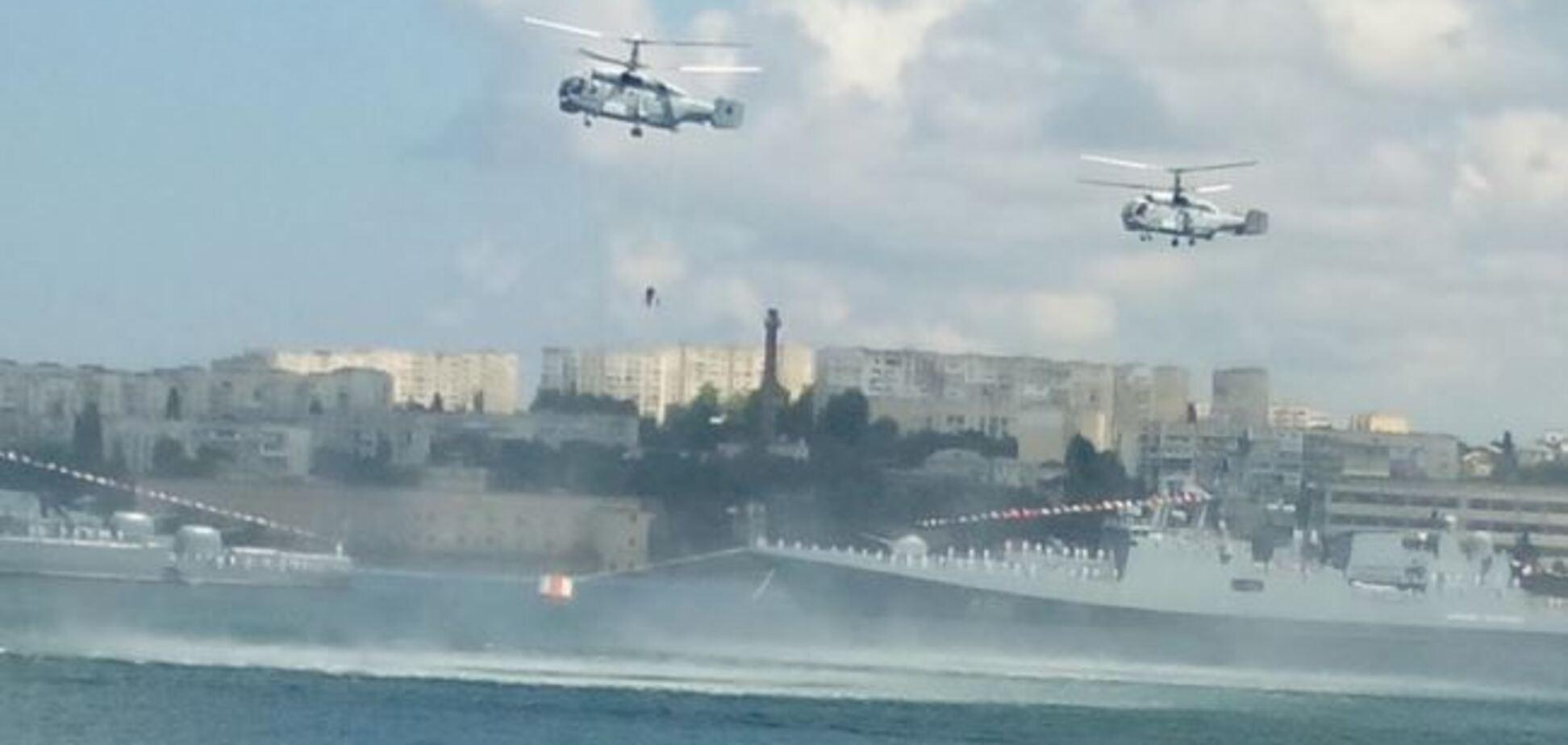 Чуть не утонул: российские военные эпично опозорились в Севастополе
