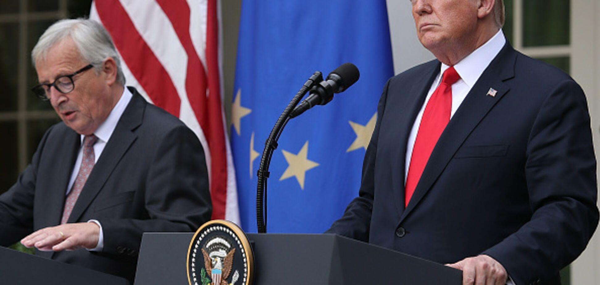 Трамп і Юнкер