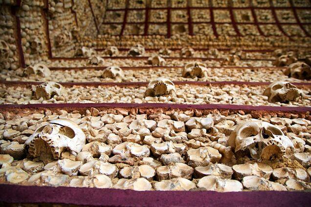 Дома из костей: как выглядят самые жуткие здания в мире