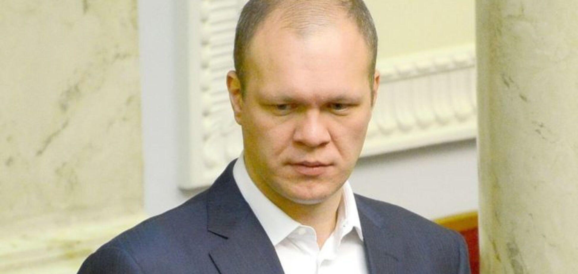 Згорнули справу: в САП виправдалися з приводу депутата 'Народного фронту'