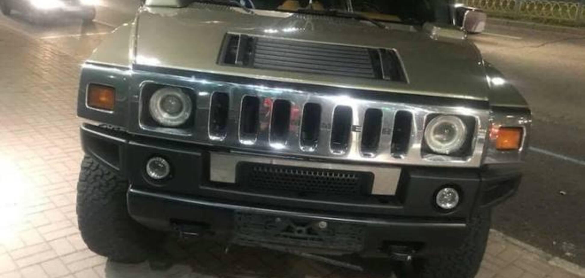 Відшукався власник Hummer з ДТП із мажором у Києві: що відомо