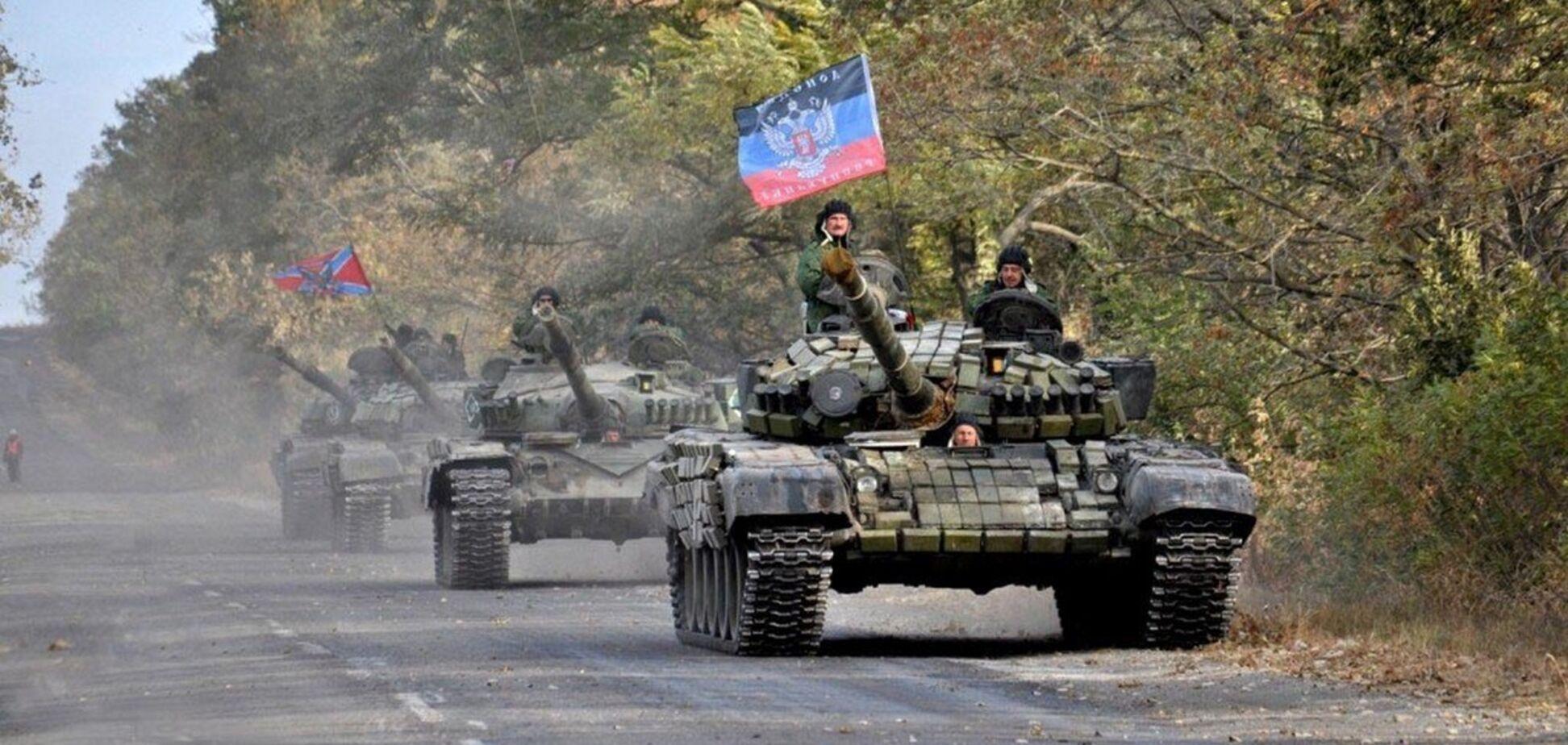 Буде наступ? Окупанти підігнали танки й артилерію на Донбасі